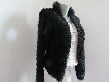Cupavi dzemper - Srbija: Dzemper cupavac S Preudoban, rastegljiv u jako crnoj boji, ima zip