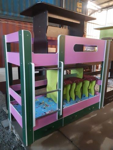 Продаю новый двухэтажный кровати!!! +доставка и установка,цена разные в Бишкек