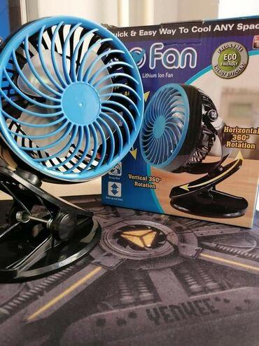 Ventilatori   Beograd: Ventilator sa punjivom baterijom.Odličan izbor za ove vrele
