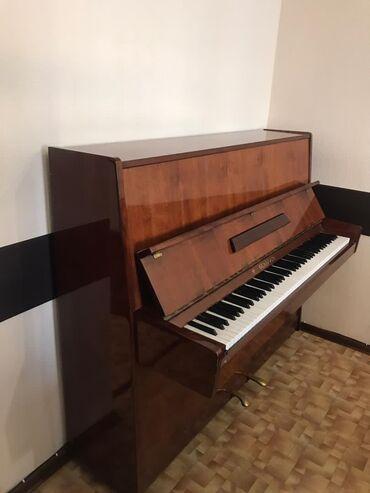 репетитор пианино в Кыргызстан: Фортепиано Белорусь, отличное состояние, настроенное, занимался ребено
