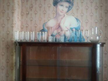 Фужеры - Кыргызстан: Фужеры бокалы графин ваза стопки