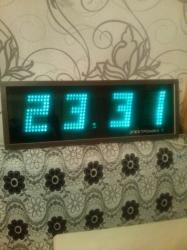 Sumqayıt şəhərində Elektron saat,coxdanin saatidi iwlekdi hec bor problemi yoxdu real