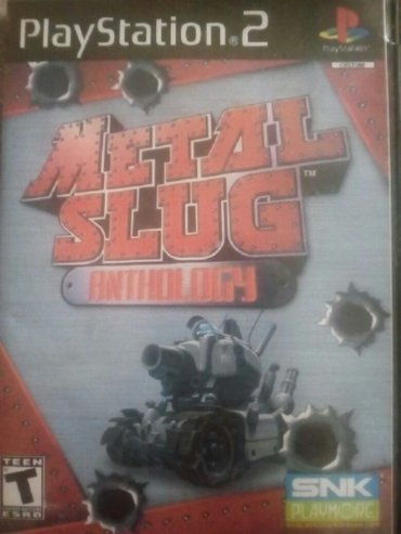 METAL SLUG Play Station 2  CD Igrica - Beograd