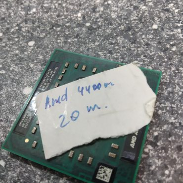 amd 4 gb - Azərbaycan: CPU AMD.4400m
