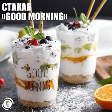 СТАКАН «GOOD MORNING»\ в Бишкек