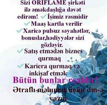 digah - Azərbaycan: Aktiv kamandayla çalisa bilen,idareçilik qabilliyetine malik xanim
