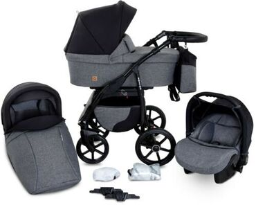 Boston Travel System 3in1 Baby Pram Car seat Pushchair Stroller
