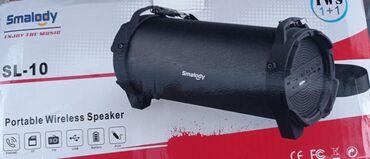 акустические системы emie колонка сумка в Кыргызстан: Promate galamate bluetooth бумбокс мощная колонка, динамик для
