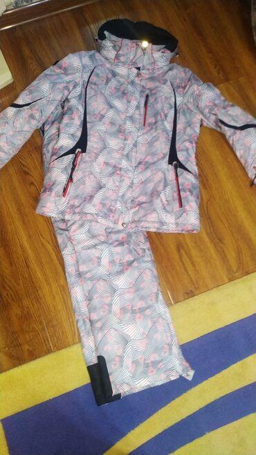 Лыжный костюм, куртка и брюки.Штаны новые, не носились.Куртка в