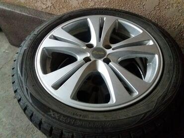 Диски с шинами R16 (4*100)Диски и шины в идеальном состоянии