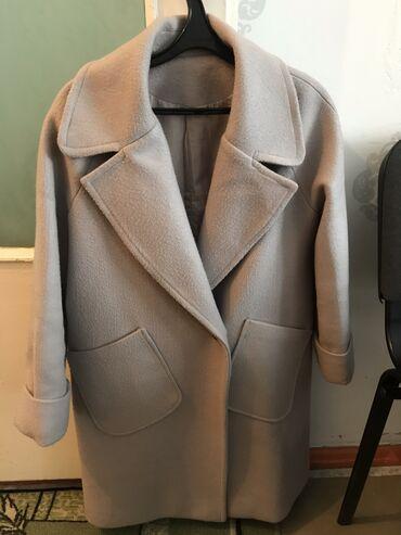 женское пальто в Кыргызстан: Женское пальто!!! Размер на 48. Б/у