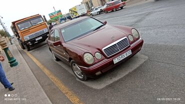 49 elan | NƏQLIYYAT: Mercedes-Benz E 320 3.2 l. 1997