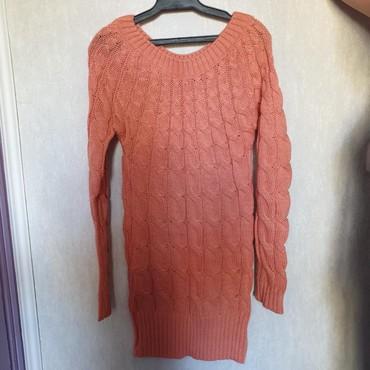 Вязанная туника-платье. Новое. Размер стандарт. Цена 400 сом в Бишкек