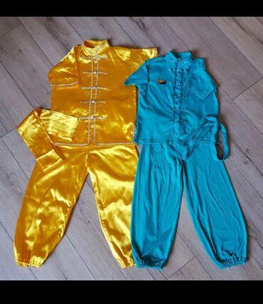 Кунфуйка 5-8 лет, 2 костюма для ушу, сумка для формы в подарок