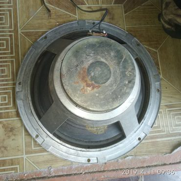 продам бу динамики в Кыргызстан: Динамик алюминиевый большой без корпуса