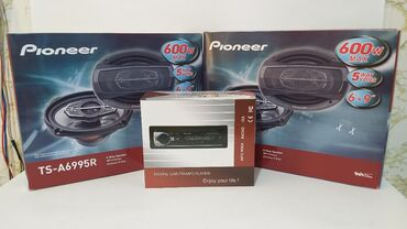 Pioneer 4 eded 600 wat dinamik Bulutuzlu maqnitafon aux flash usb