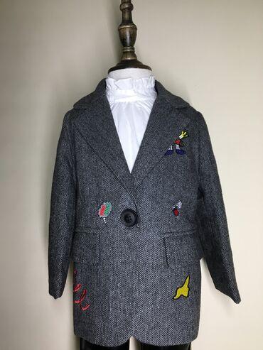 Детский пиджак для девочек из качественного материала Производство Гуа