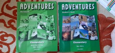 wexler book в Кыргызстан: Adventures Elementary (Oxford). Student's book and Workbook