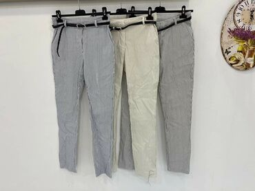 Pantalone na pruge M l xl xxl Sa kaisem 1800