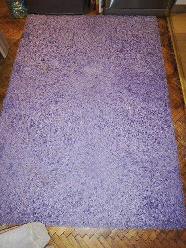 Ostalo za kuću | Kraljevo: Cupavi tepih boje jorgovana. Ocuvan I lep