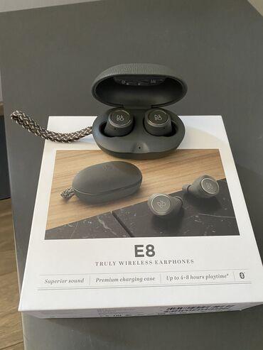 Наушники - Тип подключения: Беспроводные (Bluetooth) - Бишкек: Наушники Bang&Olufsen beoplay e8 2.0