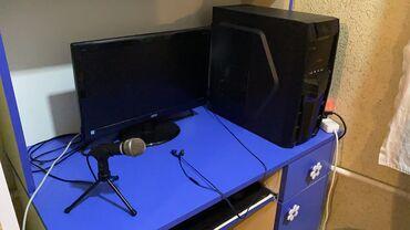 Stolüstü kompüterlər və PK Azərbaycanda: Gaming MSI PC (Kompyuter)  Ekran kartı: GTX 1050 OC 2 GB Processor: İn