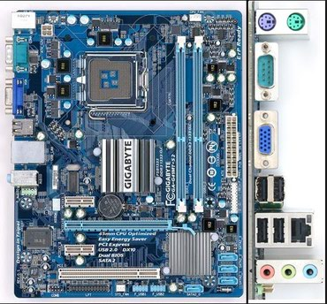 audi s2 22i turbo - Azərbaycan: İşlənmiş GIGABYTE GA-G41MT-S2 DDR3 775 ana plata