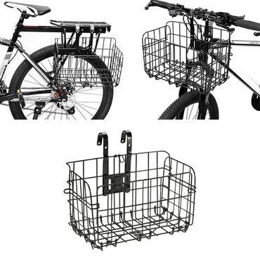 Корзина на велосипед, корзинка велосипедная, велосипедная корзина