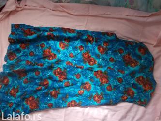 Lepa cvetna haljina ne pise velicina ali je veci broj. . XL ILI XXL - Prokuplje
