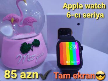 nomre - Azərbaycan: Qara Uniseks Qol saatları Apple