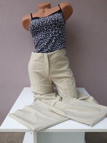 Elegantne pantalone sa ravnim nogavicama Pune elastina VelicinaS/