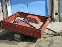продаю прицеп для легкового авто, на фото не тот, без документов, торг в Бишкек