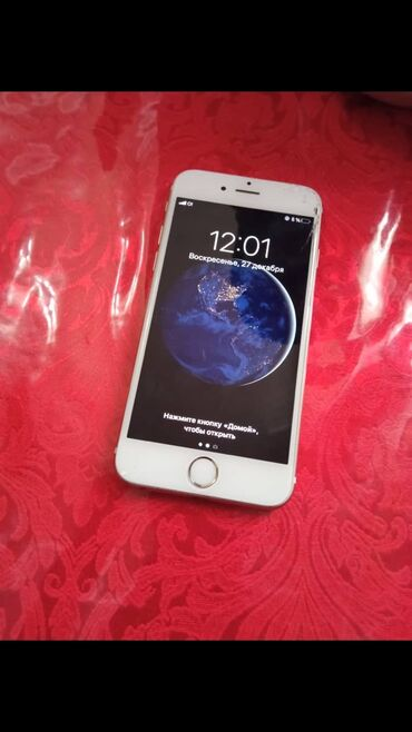 Apple Iphone - Бишкек: Б/У iPhone 6s 64 ГБ Золотой