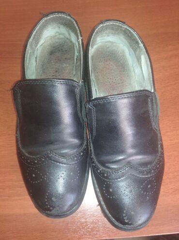 Туфли черные классические, турецкие, экокожа,носили 1сезон, полностью