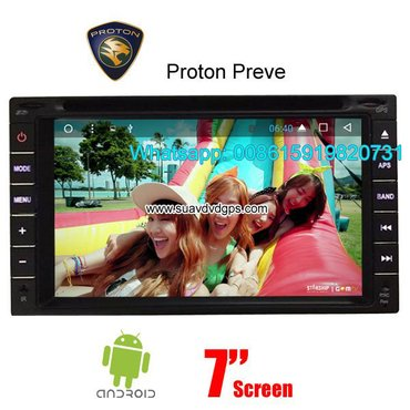 Proton Preve radio DVD GPS android    Model Number: in Kathmandu