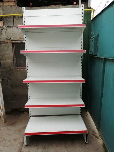 Полка стилаж металлическая для магазина или на склад высота 215см