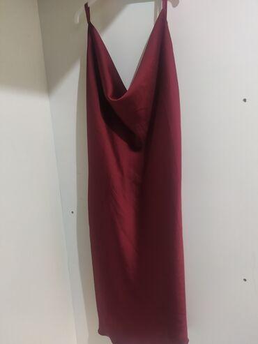 Μπορντό φόρεμα με έξω πλάτηOne sizeΑφόρετοΤιμή: 10€ Από κατάστημα