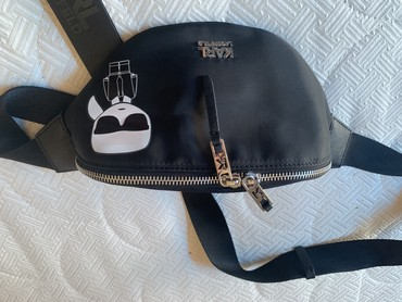 AUTHENTIC BELT BAG KARL LAGERFELD WITH PAPERS σε Αθήνα - εικόνες 3
