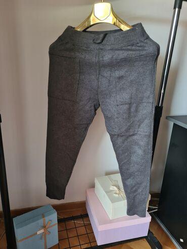 poslovne pantalone u Srbija: Zara trikotazne pantalone, sa prednje strane ima dva dublja