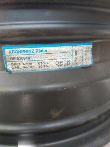 железные диски r15 в Кыргызстан: Диск колесный железный. На опель астра вектра. Вылет ЕТ 49, ширина 6j