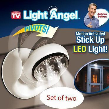 Hərəkət sensorlu kabelsiz ekonomik lampa - Light Angel, İstənilən yerə