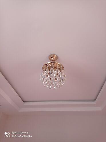 Ev üçün dekor - Azərbaycan: Bu lusturun 7 lampalisi 45 azn, 9 lampalisi 60 manata satilir. Real