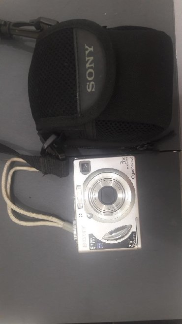 professionalnyi fotoapparat в Кыргызстан: Fotoapparat Sony silver 5.1 mega pixel