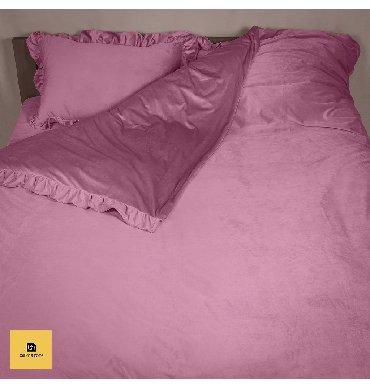 Велюровое постельное бельеОригинальный и качественный комплект из