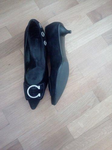 Cipele sa blagom potpetnicom,br. 39,skoro nove,jednom obuvene,veoma - Valjevo