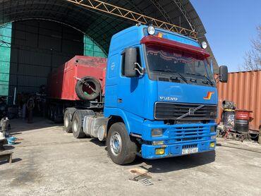 шин лайн бишкек работа в Кыргызстан: Вольво тягач 2моста с прицепом тонар европеец алюминий 34куба