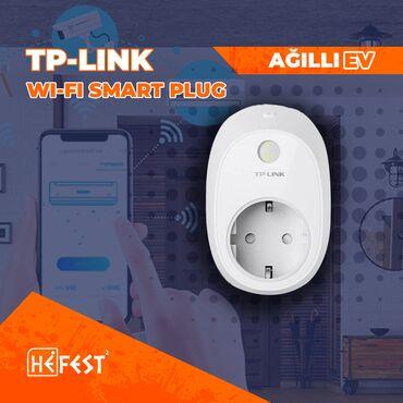 Elektrik malları - Azərbaycan: Agilli ev sistemleri. zipato. fibaro. TP-Link.  Wi-Fi Smart Plug  Uzaq