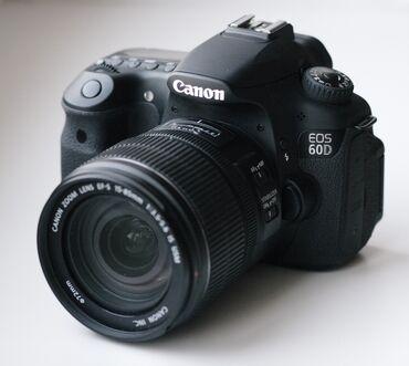 удобный фотоаппарат в Кыргызстан: Срочно продаю фотоаппарат Canon EOS 60D  Объектив 18-200  (Разумный то