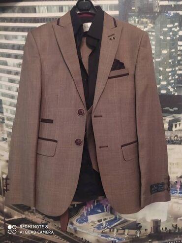 Детская одежда и обувь - Мыкан: Продаётся костюм тройка с рубашкой на 7-9 лет одевали 1 раз