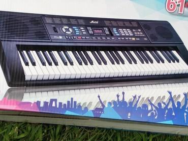 flas - Azərbaycan: Sintezator 5 oktava həcmində flas kartli mikrafonlu pianino